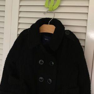 Girls Gap kids wool pea coat